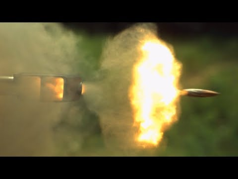 .50 Cal Sniper Rifle in Slow Motion - The Slow Mo Guys