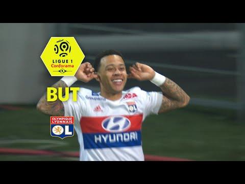 But Memphis DEPAY (4') / Dijon FCO - Olympique Lyonnais (2-5)  (DFCO-OL)/ 2017-18
