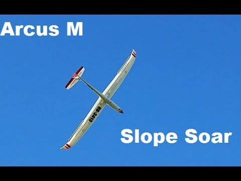 Tower Hobby / ST Model / Sheng Teng - Arcus M -Slope Soaring!!!