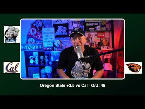 Oregon State vs Cal 11/21/20 Free College Football Picks and Predictions CFB Tips Pick Dawgz