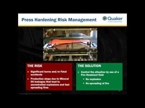 Fire Resistant Hydraulic Fluids for Hot Forming Webinar