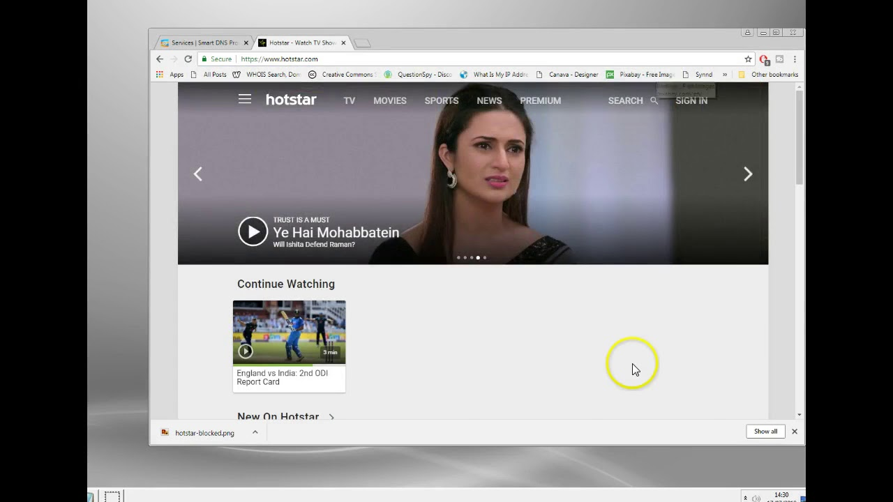 Using a Hotstar UK VPN