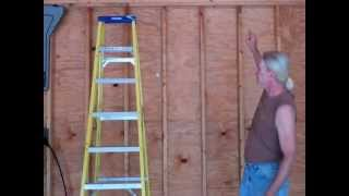 Part 2 - Building Your Own 24'x24' Garage And Save Money. Steps From Concrete To Trusses.