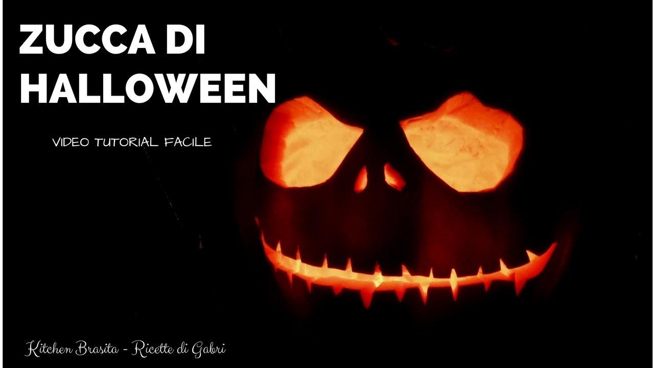 Come Fare Zucca Di Halloween Video.Come Fare Una Zucca Di Halloween Kitchen Brasita Ricette Di Gabri