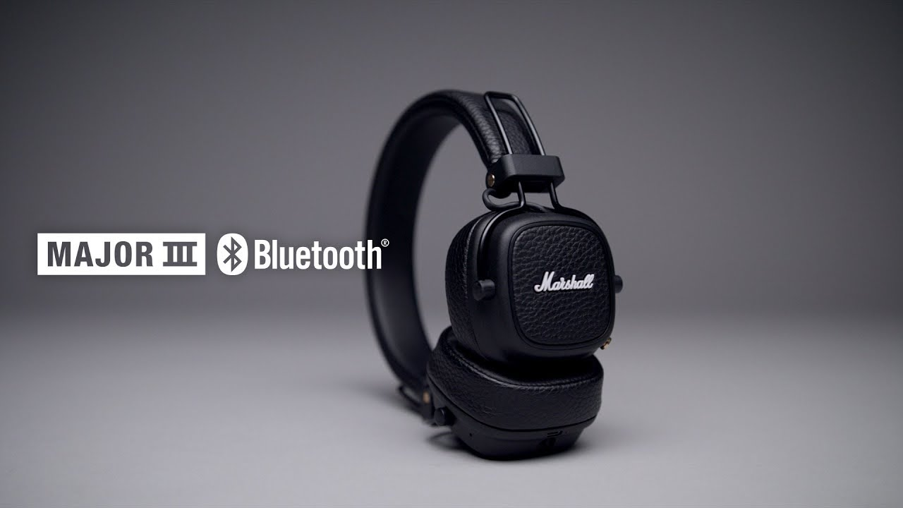 e9c78e1cee4 Marshall - Major III Bluetooth Headphones - Intro/Trailer English ...