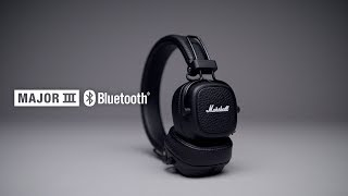 Marshall - Major III Bluetooth Headphones - Intro/Trailer English