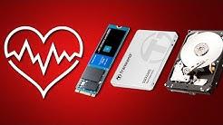 Vérifier l'Etat de Santé D'un Disque Dur / SSD facilement