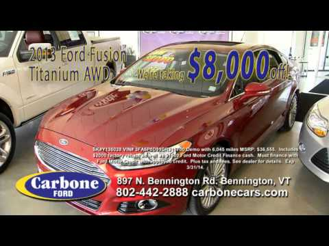 carbone ford bennington vt