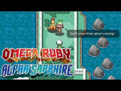 Pokemon Omega Ruby & Alpha Sapphire: News - Rival Battles ...