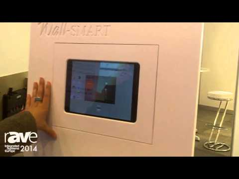ISE 2014: Wall-SMART Features Flush In-Wall Mount for Touch Panels