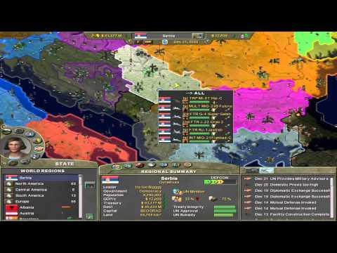 Supreme Ruler 2020 - The Kingdom of Serbia - Part 3