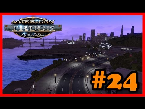American Truck Simulator - Let's Play #24 - Urgent Delivery [1080p 60FPS]