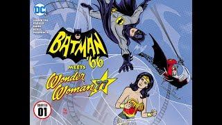 """Batman '66 meets Wonder Woman '77 #1 -Review Video- """"Adam West meets Lynda Carter"""""""