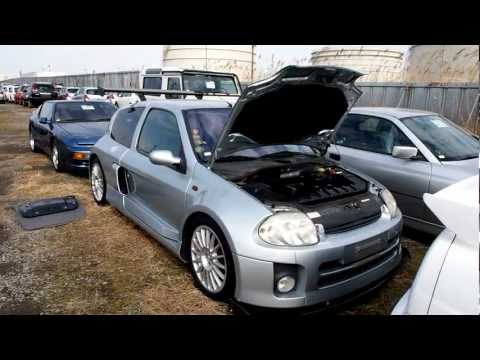 Renault Clio Sport V6 Lutecia   Japan Purchase Inspection MOV