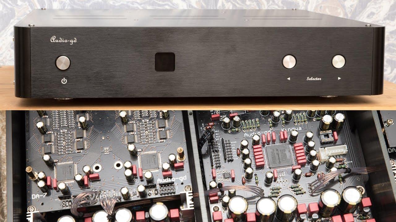Audio-gd R2R 7 DAC Preview