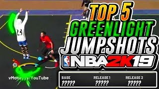 THE BEST GREENLIGHT JUMPSHOTS! NBA 2K19 THESE JUMPSHOTS WILL TURN YOU INTO A GREEN MACHINE!