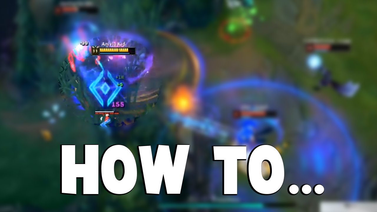 HOW TO DESTROY LEAGUE OF LEGENDS AS ANIVIA... | Funny LoL Series #374