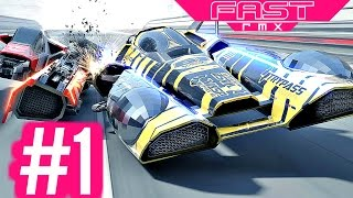 fast rmx championships part 1 silicon cup nintendo switch gameplay hd