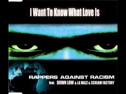 Rappers Against Racism Feat. Down Low & La Mazz – I Want To Know What Love Is (Maxi Mix)