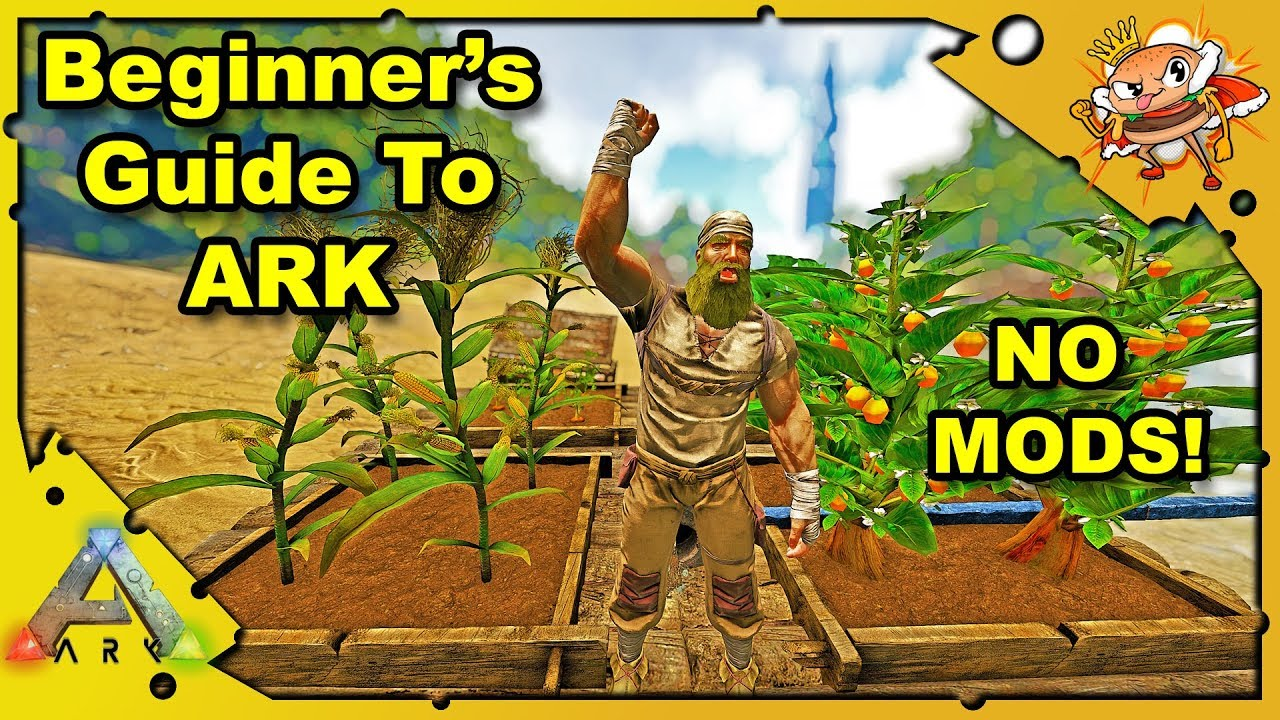 How To Farm Vegetables A Beginners Guide Ark Survival Evolved No Mods S1e3 Youtube