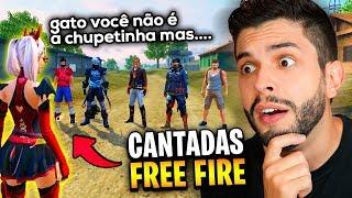 ASSANHADA?!? ELA ASSUSTOU OS JURADOS NAS CANTADAS DO FREE FIRE!!