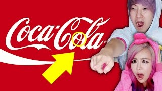 Hidden Messages In Famous Logos!!