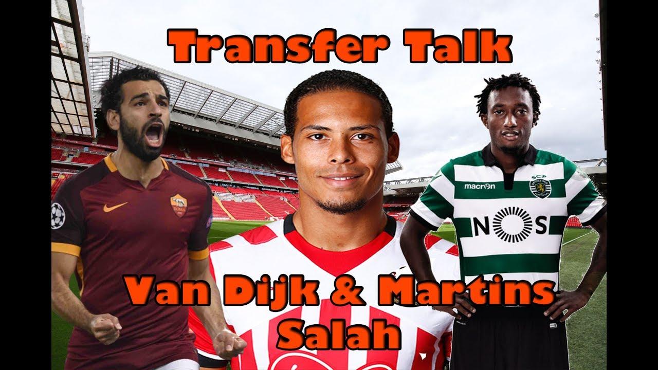 Liverpool fc Van Dijk NEW UPDATE!! MARTINS IN Talks? Salah!! Transfer News LFC