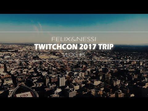 SKYSPACE & DISNEYLAND LOS ANGELES   TwitchCon 2017 Trip #5   Travel Vlog