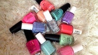 My Summer Nail Polish Picks!