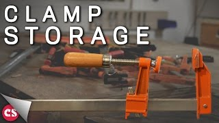 SUPER EASY/CHEAP way to store clamps! - DON