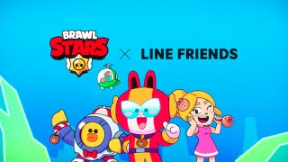 Brawl Stars Animation: LINE FRIENDS Skins incoming!