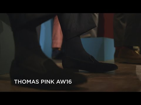 Thomas Pink AW16 at London Collections Men