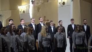 """Varšuvos Politechnikos Akademinio Choro Koncerto """"Po Angelų Sparnais"""" Fragmentai"""