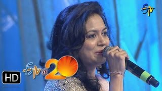Sunitha Performance - Aakasamlo Aasala Song in Gunturu ETV @ 20 Celebrations