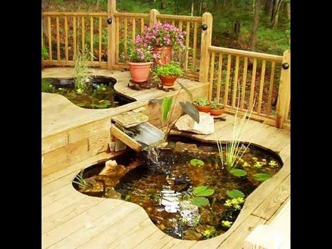 Декоративный пруд на даче  Идеи для Вас