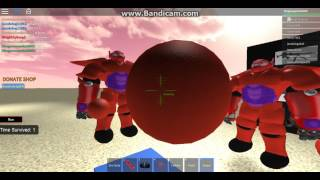 ROBLOX Bamax In Area-51 WHAT HAVE I BECOME?!?!