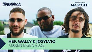HEF, JOSYLVIO & WALLY A$M maken eigen vloeitje | Mascotte Draait Door
