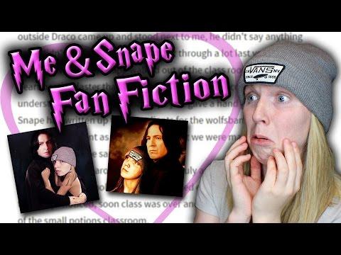 READING ME & SNAPE FAN FICTIONS!