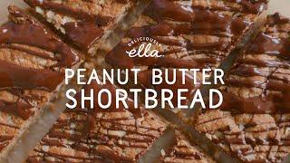 Vegan Peanut Shortbread | Deliciously Ella