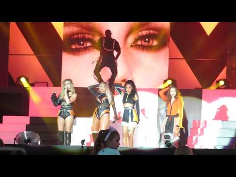 Little Mix - No More Sad Songs - The Summer Hits Tour 2018 Live - at Maidstone, Kent on 22/07/2018