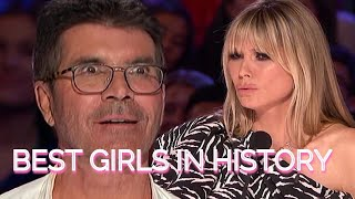 TOP 5 BEST FEMALE Auditions OF ALL TIME! America\x27s Got Talent