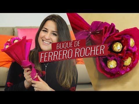 Buquê de Ferrero Rocher para o Dia dos Namorados | Drops das Dez