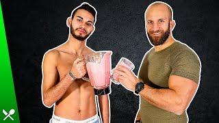 3 kalorienreiche Hardgainer- Shakes zum Masseaufbau!
