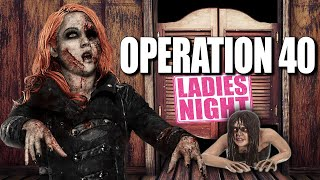 IT'S LADY ZOMBIES NIGHT AT OPERATION 40 BAR! (Call of Duty Zombies Map)