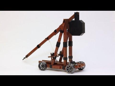 Custom LEGO Trebuchet