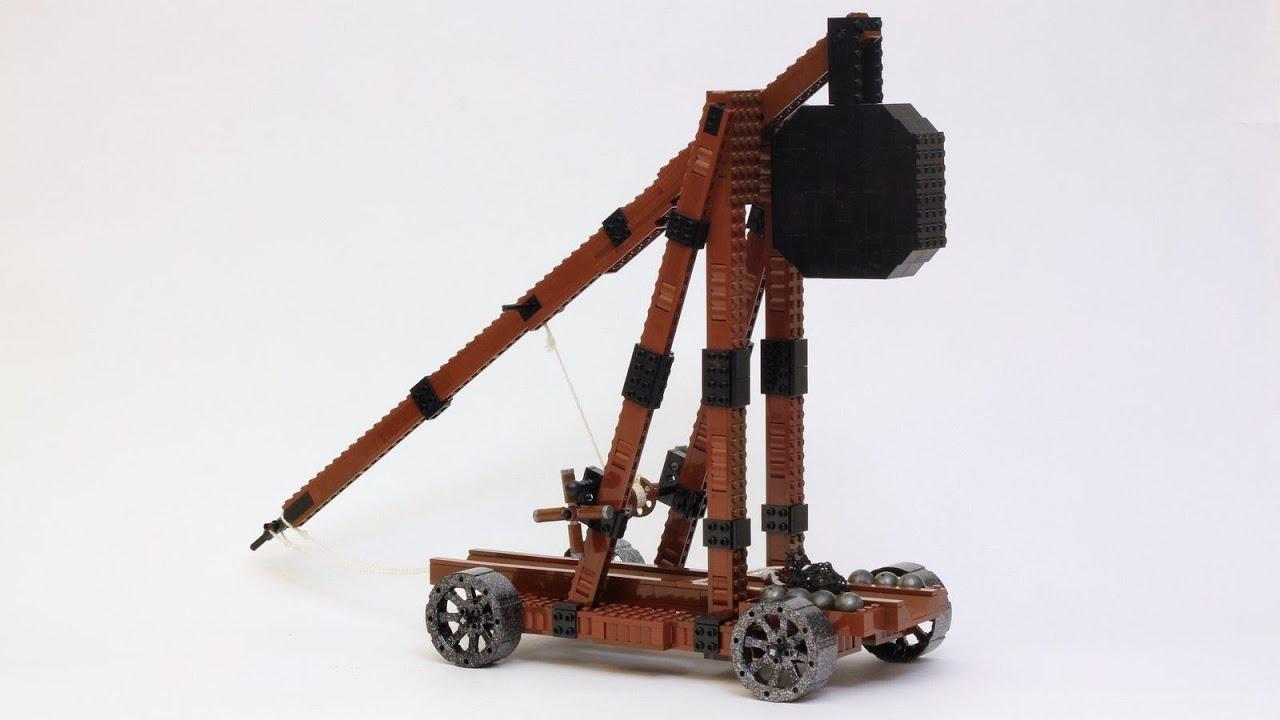 Custom Lego Trebuchet Youtube