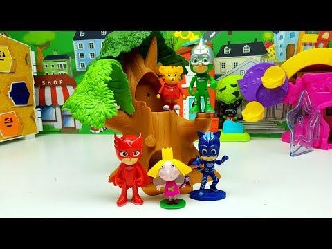 Tiger Daniel rimane incastrato sull'albero ma Super Pigiamini vengono ad aiutarlo 🐯 🤗