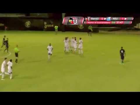 Men's Soccer Barry vs. NSU 10/19/16