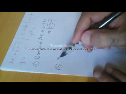 How to find the domain of a Composite function: General Mistake: Part 3