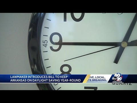 Steve Knoll - Arkansas Lawmaker Wants Us to Stay on Daylight Saving Time Permanently